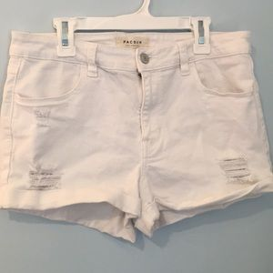 Pacsun White Shorts